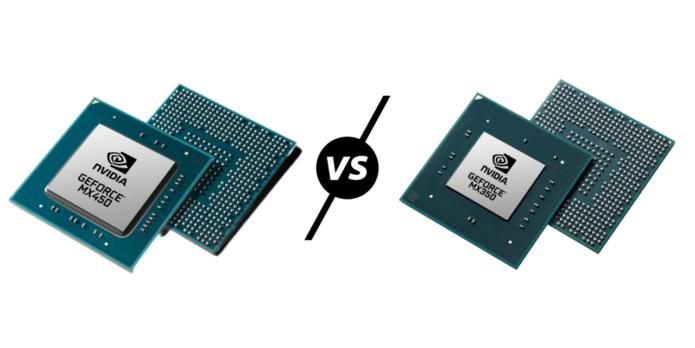Nvidia GeForce MX450 vs MX350 vs MX250