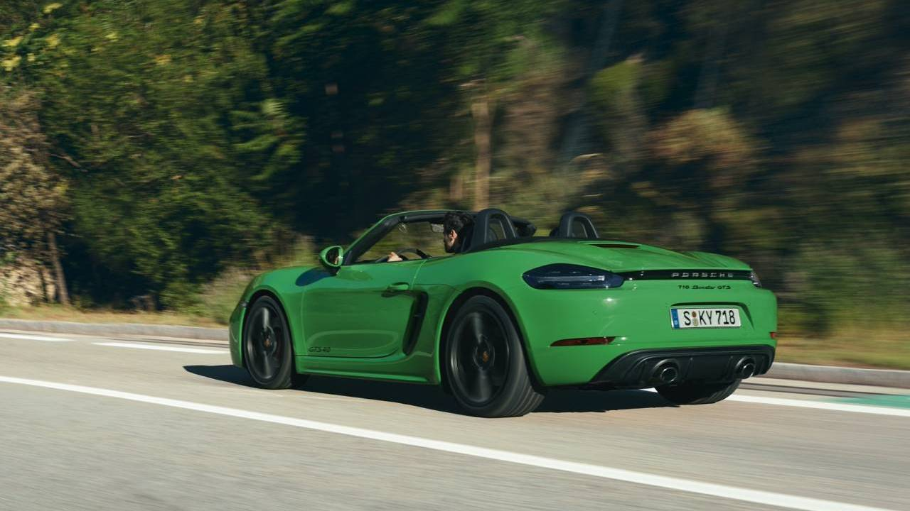 Porsche 718 models with PDK dual-clutch gearbox has more traction and torque