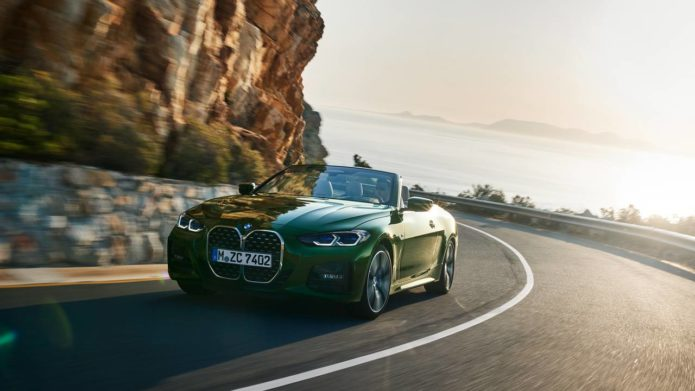 2021 BMW 4 Series Convertible has a new soft-top roof