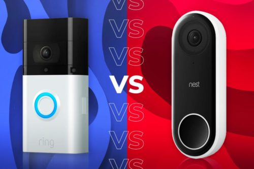 Nest vs Ring – Nest Hello and Ring Video Doorbell 3 Plus compared
