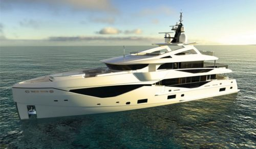 Sunseeker Ocean Club 42 first look: New superyacht design embraces beach club trend
