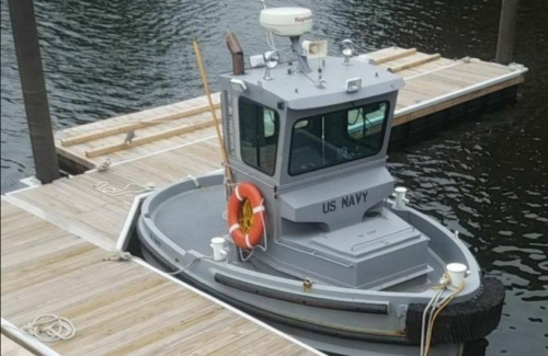 This Little Baby Boat May Be the Smallest Ship in the Navy