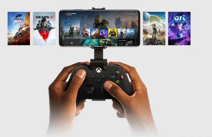 Xbox remote play feature shown running on iPhone, following Android launch