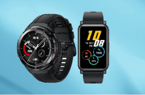 Honor GS Pro and ES smartwatches announced