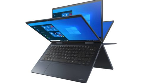"Dynabook reveals super-portable Intel ""Tiger Lake"" laptop and 2-in-1"