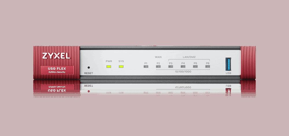Zyxel USG Flex 100 Firewall Review