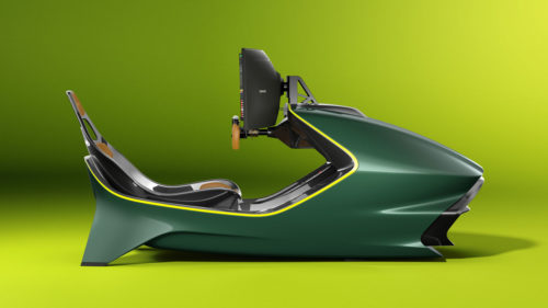 Aston Martin AMR-C01 racing simulator promises a luxury esports experience