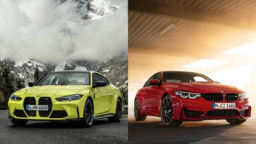 2021 BMW M4 Vs 2020 BMW M4: How Do They Compare Visually?