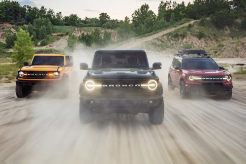 V8 ruled out for Ford Bronco, in for Jeep Wrangler