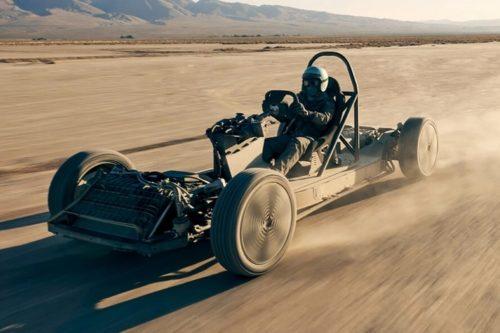 Canoo Skatecart Showcases The Outfit's Versatile EV Platform As A Barebones Desert Buggy