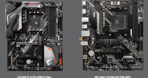 AMD A320 vs A520 vs B450 vs B550 Chipset Comparison