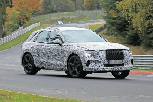 Genesis GV70 Compact Luxury Crossover Teased For The First Time