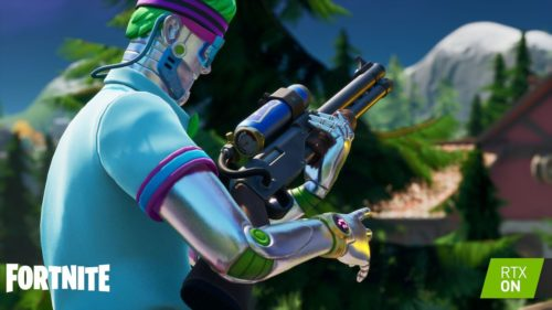 Fortnite flips RTX on September 17: Ray tracing, DLSS, and Nvidia Reflex