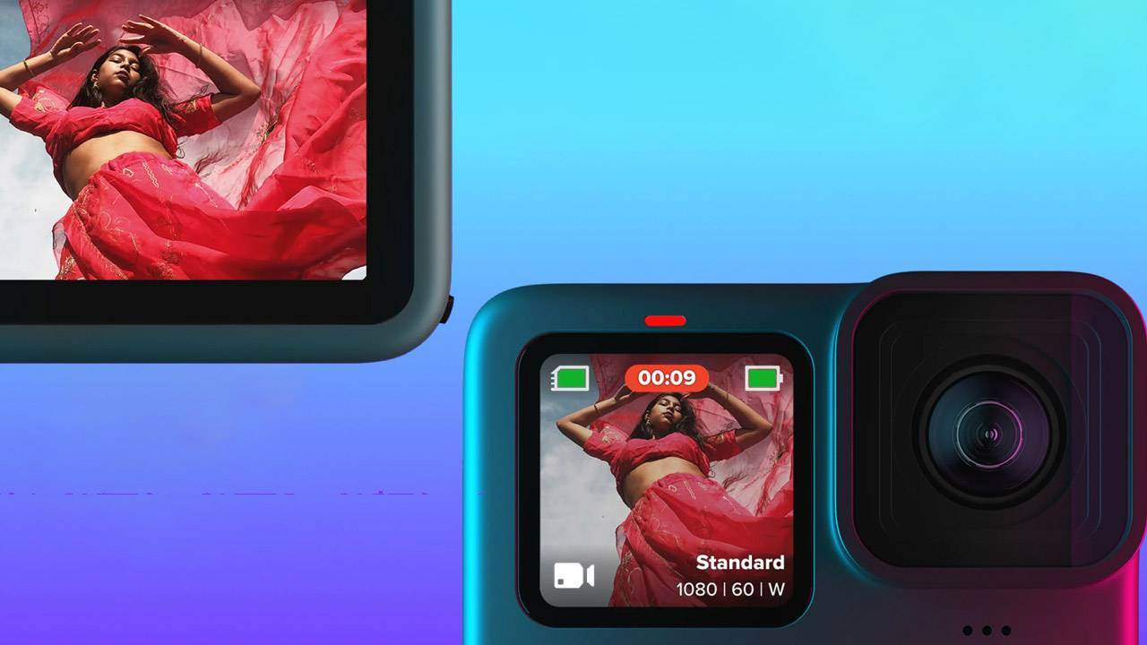 """GoPro HERO9 Black released with """"folding fingers"""" and a front-facing display"""