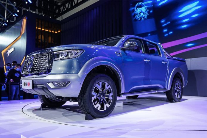 2020 Great Wall Poer pick-up to attack Ranger, HiLux