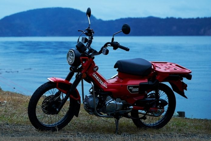 2021 Honda Trail 125 ABS Lets You Bring The Mini-Bike Experience To Off-Road Terrains