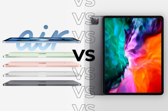 Apple iPad Air 4 vs Apple iPad Pro 2020: the five key points you need to know