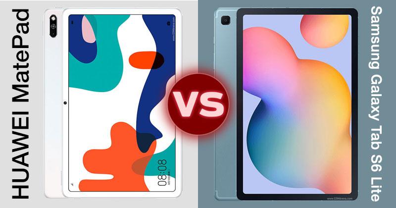 Huawei MatePad vs Samsung Galaxy Tab S6 Lite