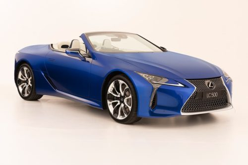Special start for Lexus LC 500 Convertible
