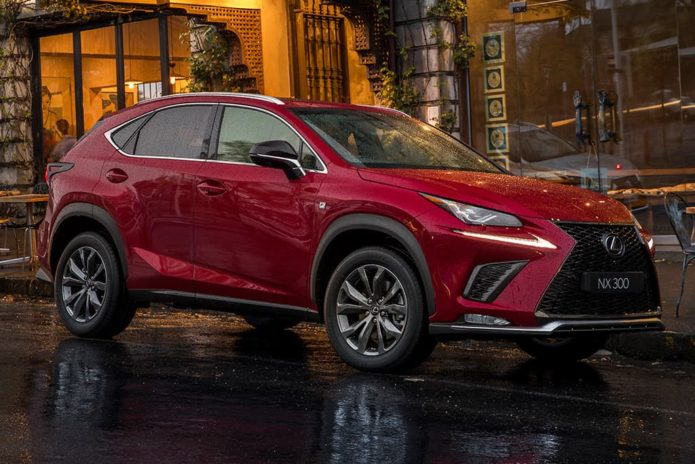 Prices up for MY21 Lexus NX