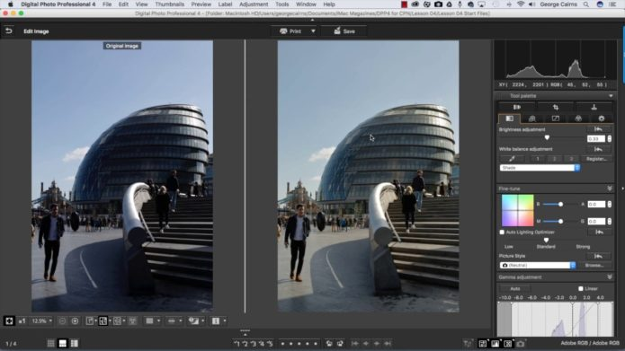 Adobe Camera Raw vs. Canon Digital Photo Professional: Which should you use and why?