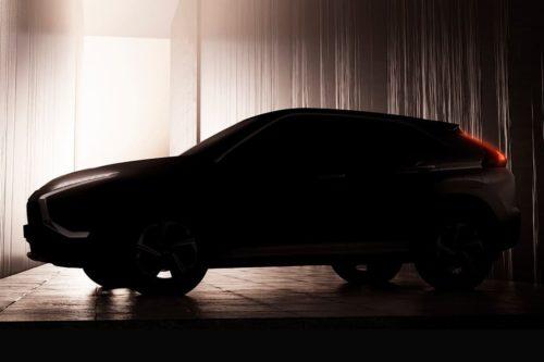 New-look Mitsubishi Eclipse Cross teased