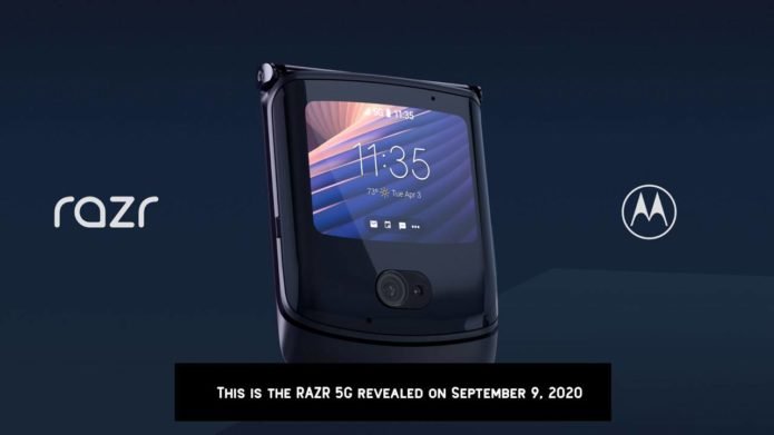 New Motorola Razr is 2020's 5G foldable do-over