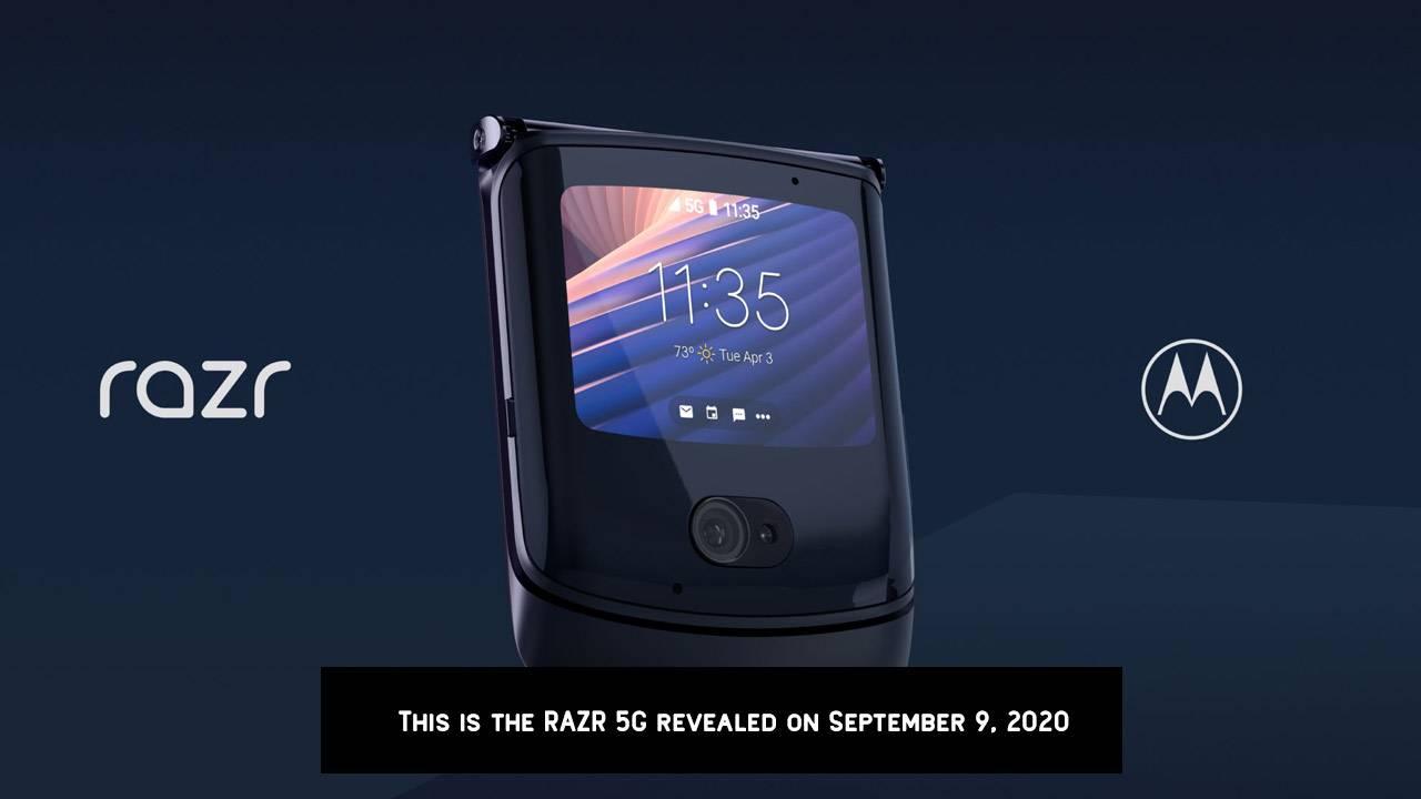 New Motorola Razr is 2020's 5G foldable do-over
