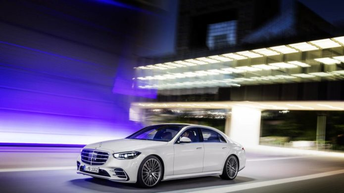 The 2021 Mercedes-Benz S-Class is a luxury and tech showcase