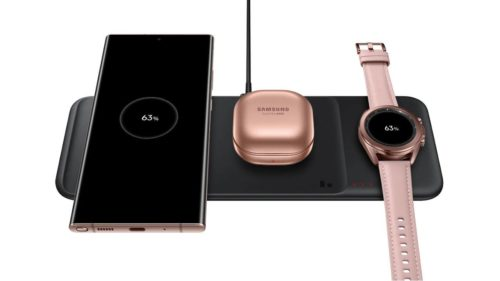 Samsung Wireless Charger Trio specs detailed in product pages