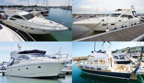Secondhand boat buyers' guide: 4 of the best 45ft flybridge yachts for sale