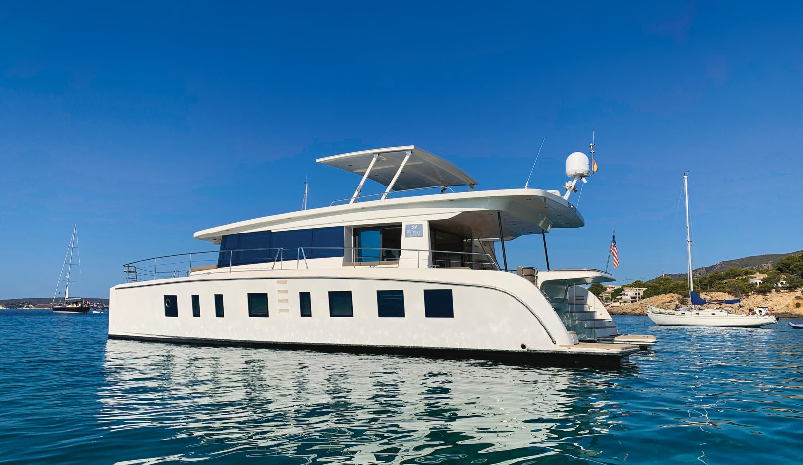 Silent Yachts 55: Liveaboard test of this future-proof electric catamaran