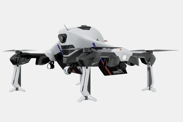 Sonin Hybrid Recruit Drone Flies At 140 MPH And Stays Airborne For 3 Hours