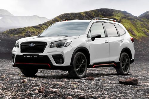 Subaru Forester Sport emerges