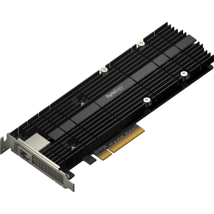 Synology E10M20-T1 M.2 SSD & 10GbE Card Review