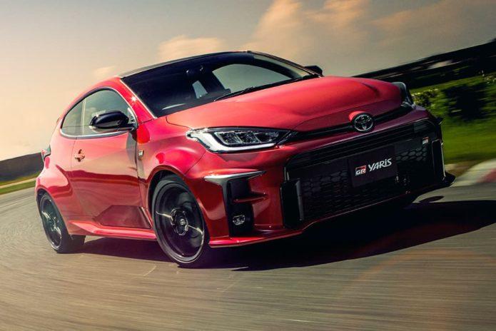 Toyota GR Yaris starts under $40K