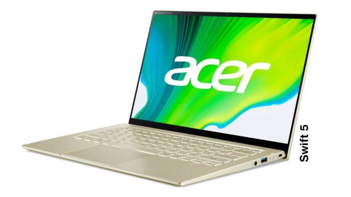 Acer Swift 5 gets Intel Evo Platform vertified, 11th Gen Intel Core inside