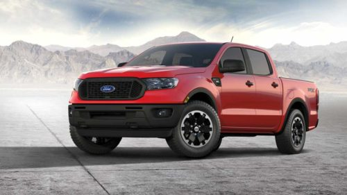 2021 Ford Ranger XL now available with the STX Special Edition Package