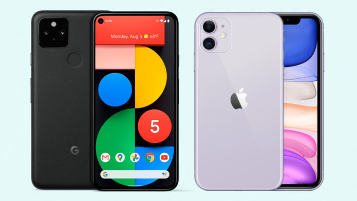 Apple iPhone 11 vs. Google Pixel 5: Battle of the $699 Smartphones