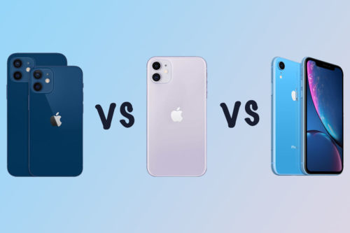 Apple iPhone 12 vs 11 vs iPhone XR comparison: What's the difference?