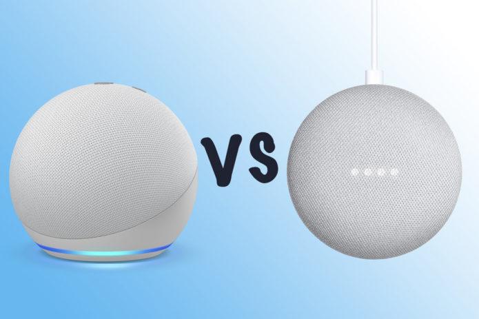 Amazon Echo Dot 2020 vs Google Nest Mini: Which is the best compact smart speaker?