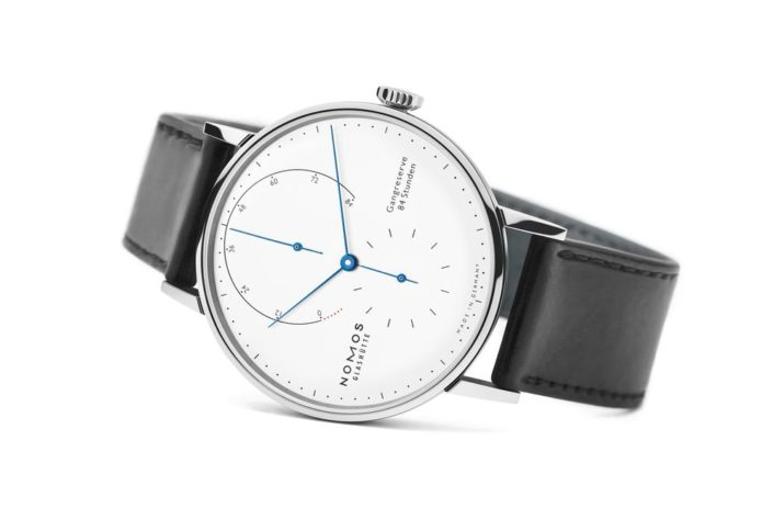 A Once-Gold Nomos Watch Now Comes in Steel