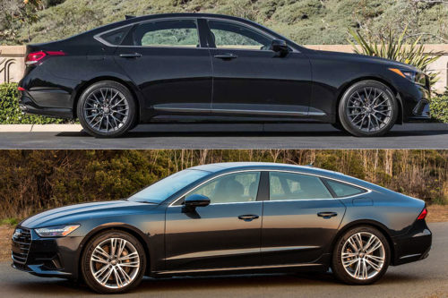 2020 Genesis G80 Vs. 2020 Audi A7: Which Is Better?
