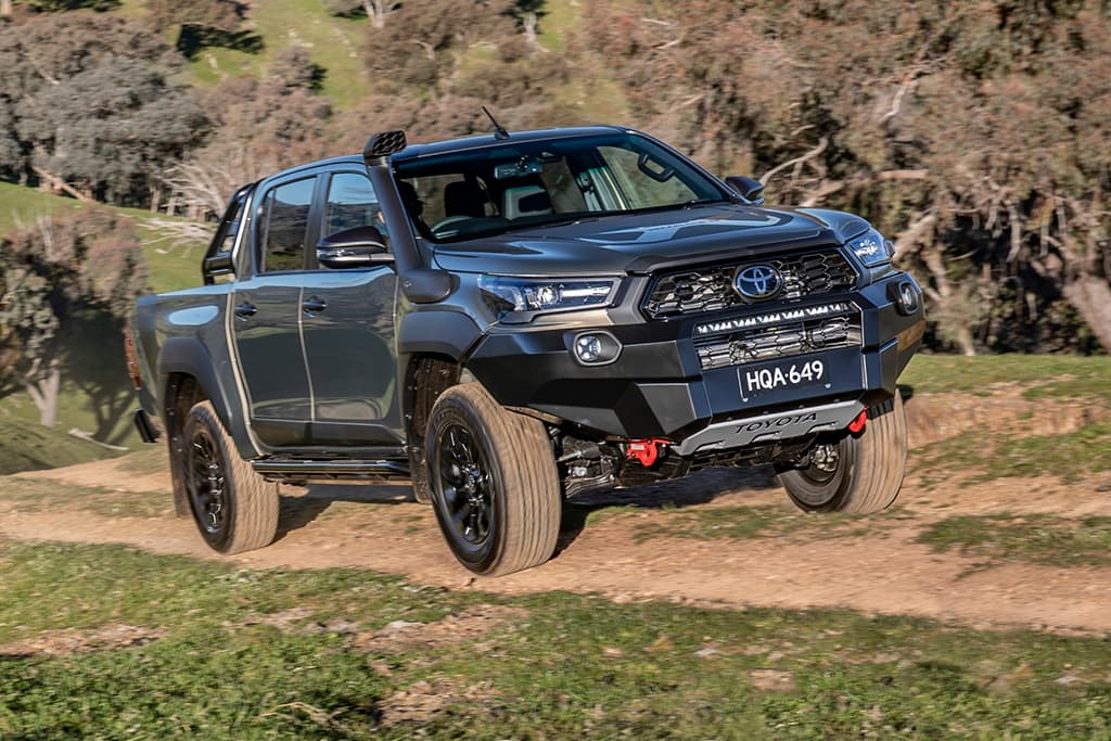 Toyota GR HiLux to outmuscle Ford Ranger Raptor