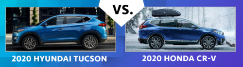 2020 Hyundai Tucson vs. 2020 Honda CR-V: Which Is Better?