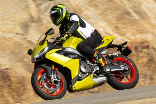 2021 Aprilia RS 660 Review (18 Fast Facts From the Canyons)