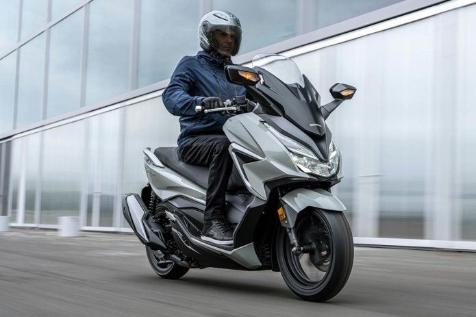 2021 Honda Forza Lineup First Look: Three New Scooters