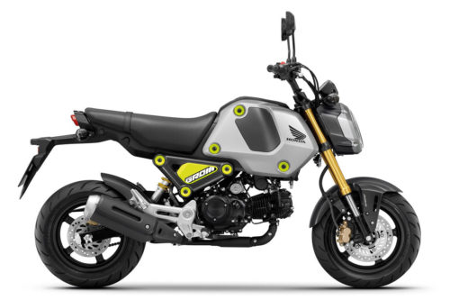 2021 Honda Grom First Look: 5-Speed and More HP