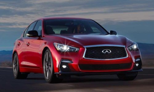 2021 Infiniti Q50 Gets Sharper With New Signature Edition