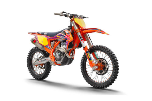 2021 KTM 250 SX-F Troy Lee Designs First Look (12 Fast Facts)